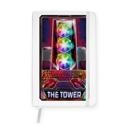 The Gaming Tower Tarot Card Notebook