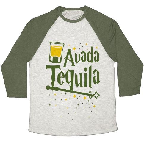 Avada Tequila Baseball Tee