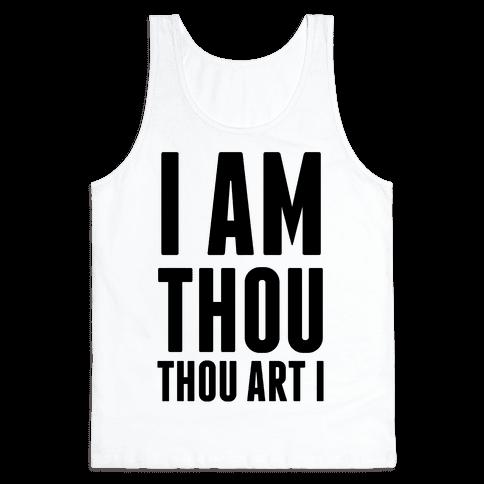 I Am Thou Tank Top