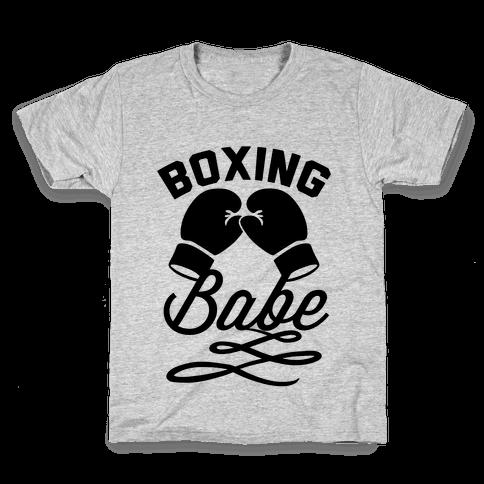 Boxing Babe Kids T-Shirt