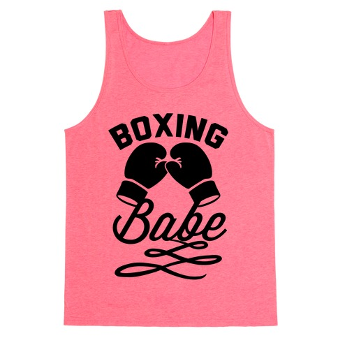 Boxing Babe Tank Top