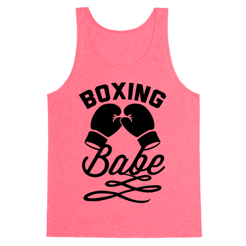 Boxing Babe Tank Top