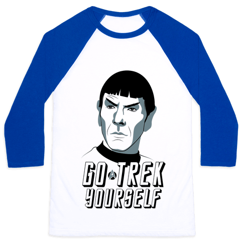 Go Trek Yourself Baseball Tee