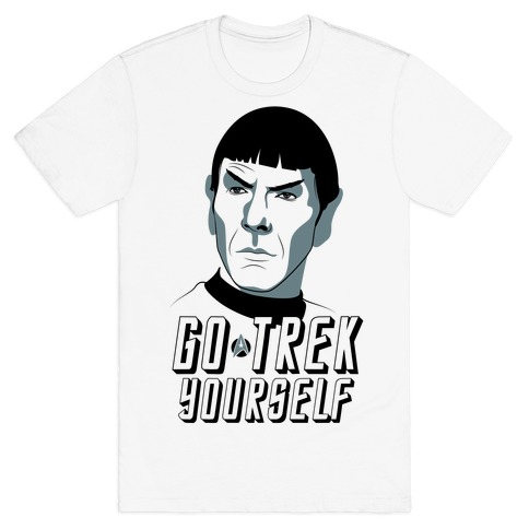 Go Trek Yourself Mens T-Shirt