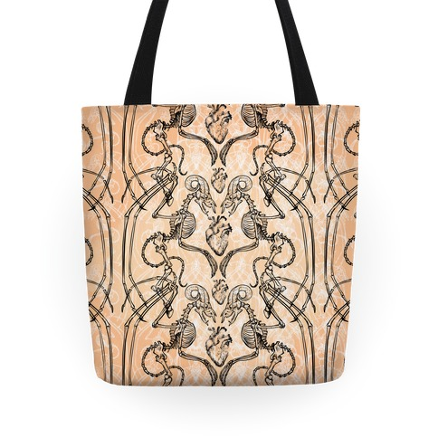 Jersey Devil Skeleton Tote