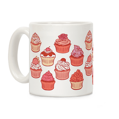 Pretty Pretty Cupcakes Coffee Mug