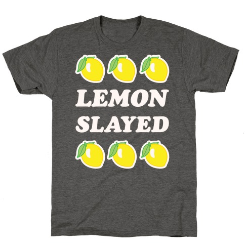Lemon Slayed Parody T-Shirt