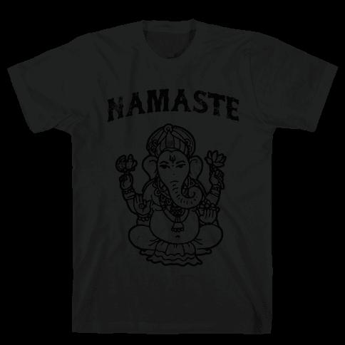 Namaste Mens T-Shirt