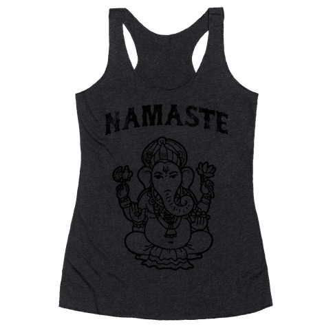 Namaste Racerback Tank Top