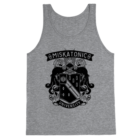 Miskatonic University Tank Top