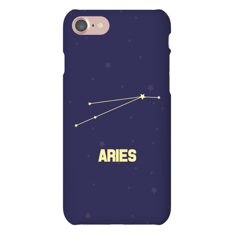 Aries Horoscope Sign Phone Case