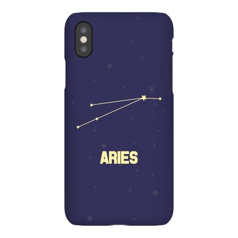 Aries Horoscope Sign Phone Case