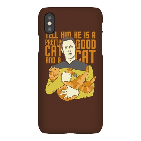 Data and Spot Phone Case