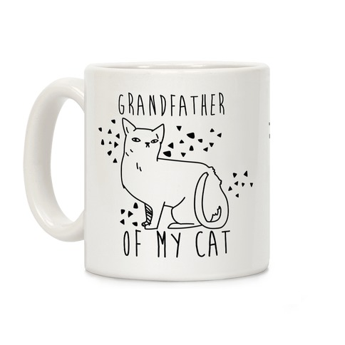 Grandfather of My Cat Coffee Mug