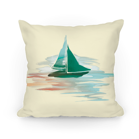 Sail The Seas Pillow