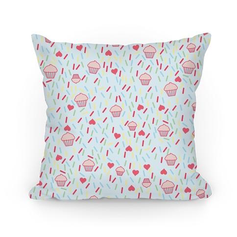 Cupcake Pattern Pillow Pillow