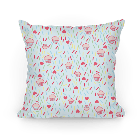 Cupcake Pattern Pillow Pillow