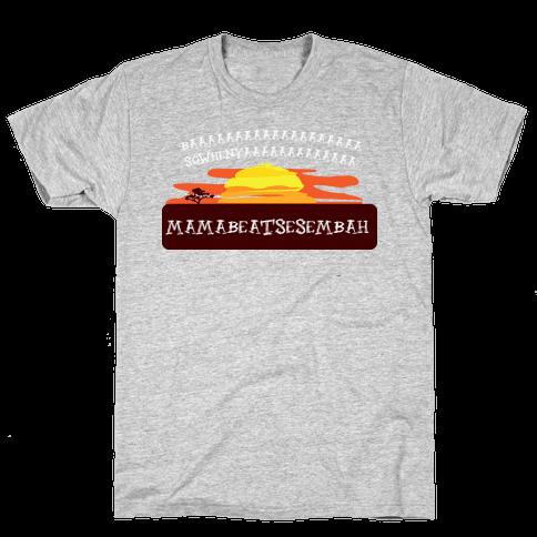 Sowhenya lion Mens T-Shirt