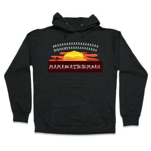 Sowhenya lion Hooded Sweatshirt