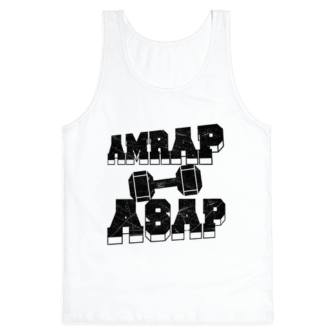 AMRAP ASAP Tank Top