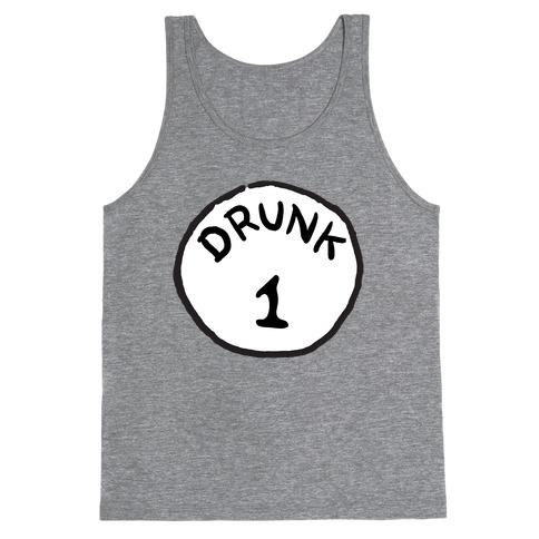 Drunk 1 Tank Top
