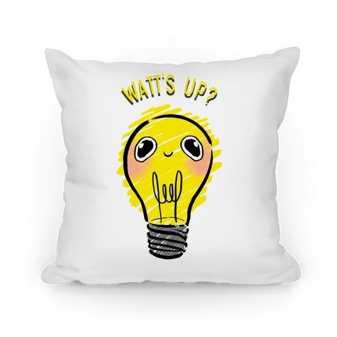 Watt's Up? Pillow