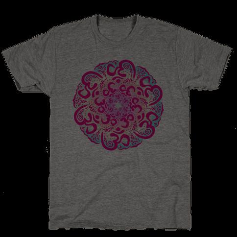 Namaste Mandala Mens T-Shirt