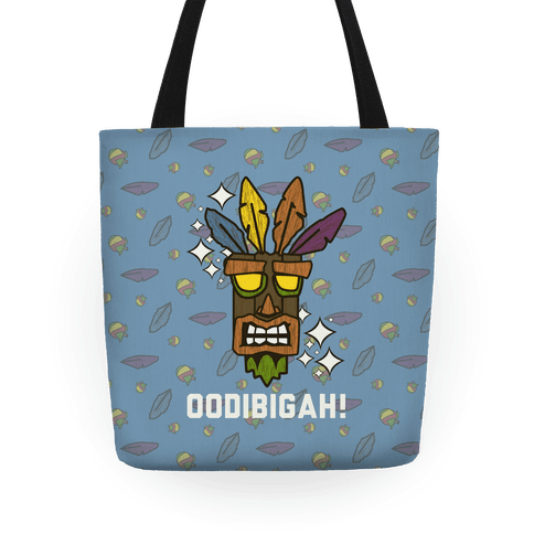 Crash Aku-Aku Mask Tote