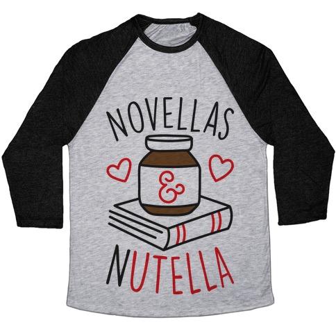 Novellas & Nutella Baseball Tee