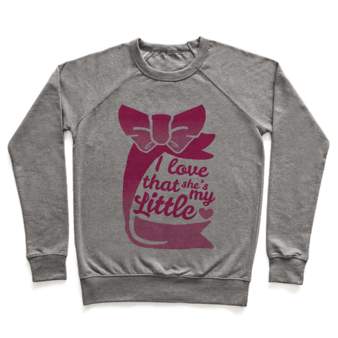 I Love She's My Sister (Little) Pullover