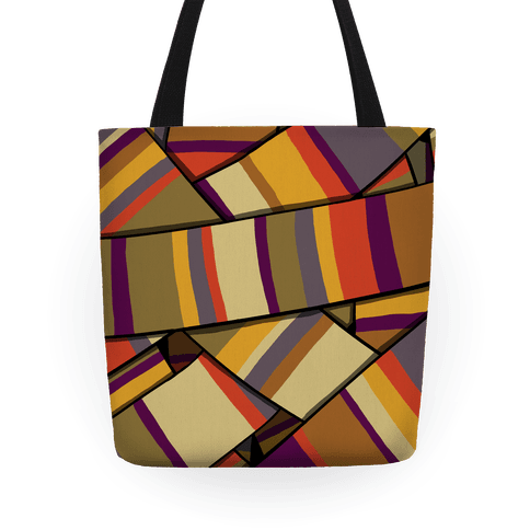 Doctor Who Scarf Pattern Tote
