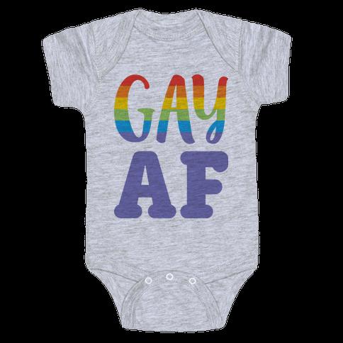 Gay AF Baby Onesy