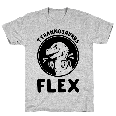 Tyrannosaurus Flex Mens T-Shirt