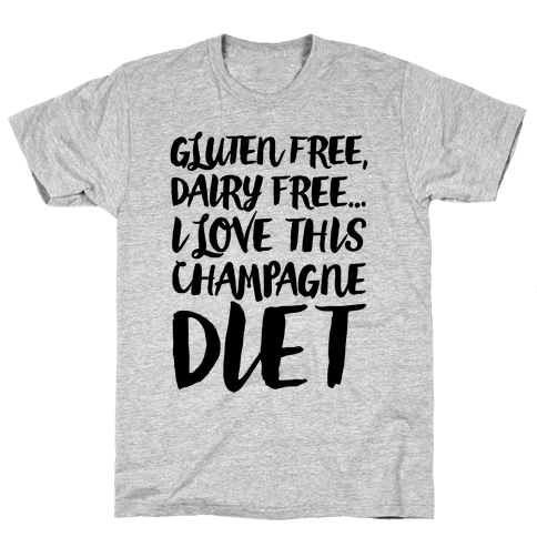 Champagne Diet Mens T-Shirt