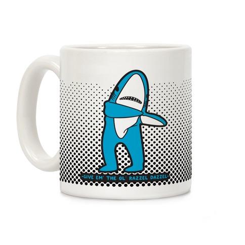 Left Shark Razzle Dazzle Coffee Mug