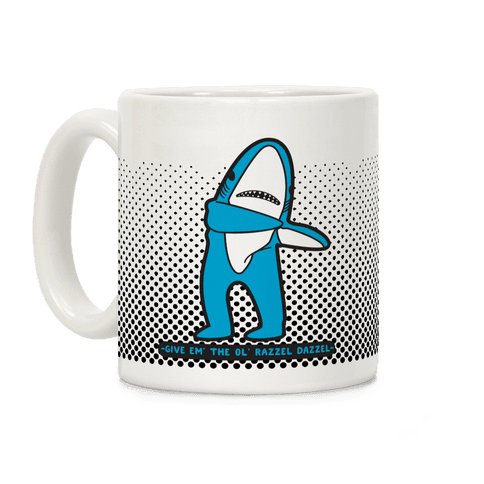 Left Shark Razzle Dazzle Coffee Mug