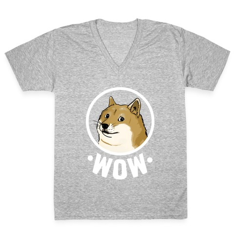 Doge V-Neck Tee Shirt