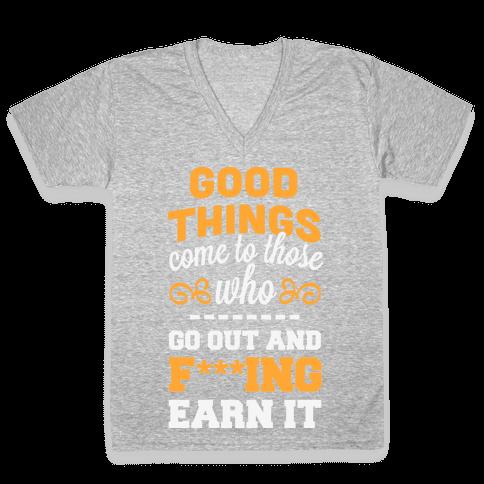 Good Things V-Neck Tee Shirt
