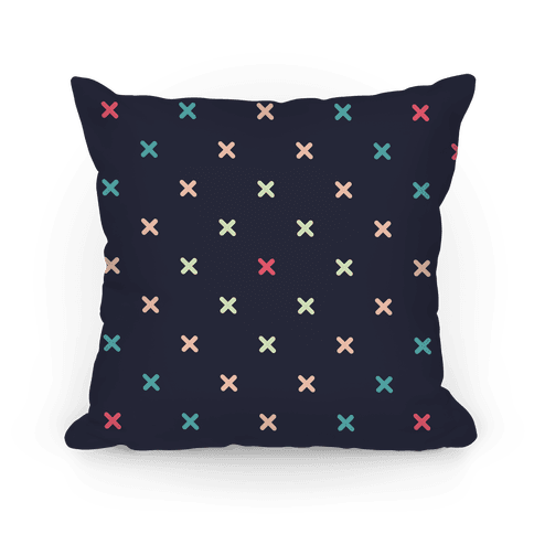 X Pattern Pillow