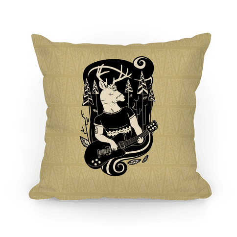 Rock and Roll Buck Pillow