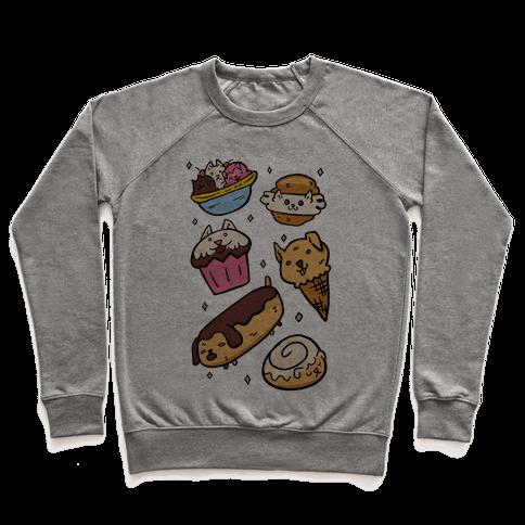 Kawaii Food Dogs Pullover