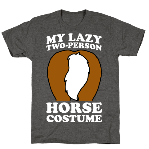 My Lazy Two-Person Horse Costume (Butt)
