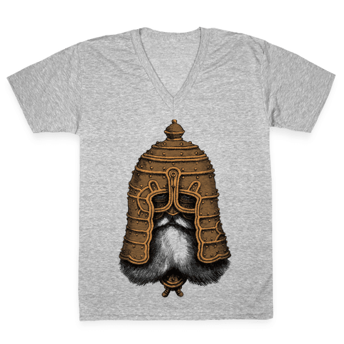 Old Warrior V-Neck Tee Shirt