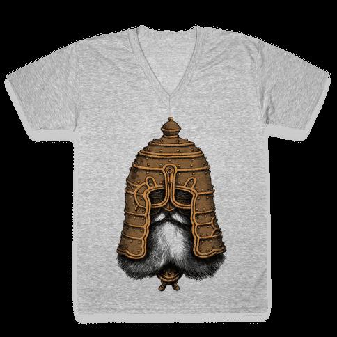 Old Warrior V-Neck Tee Shirt
