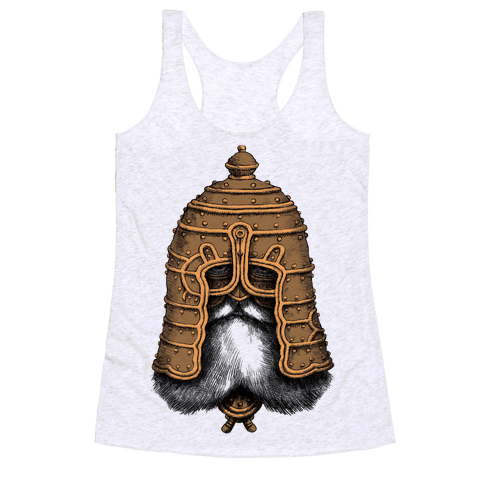 Old Warrior Racerback Tank Top