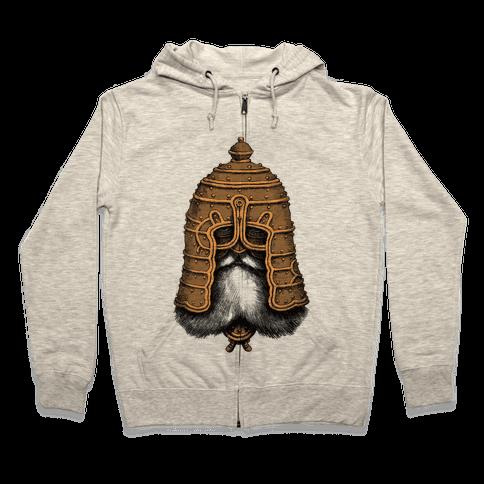 Old Warrior Zip Hoodie