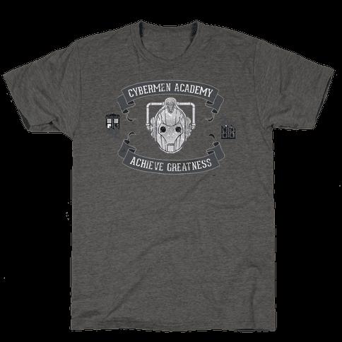 Cybermen Academy Mens T-Shirt