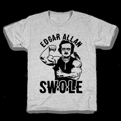 Edgar Allan Swole Kids T-Shirt
