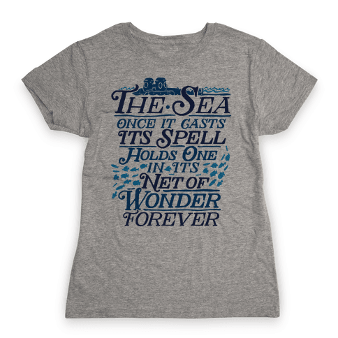 The Sea Womens T-Shirt