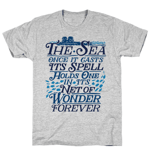 The Sea Mens T-Shirt